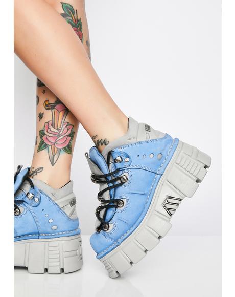 Nobukc Celeste Platform Sneakers