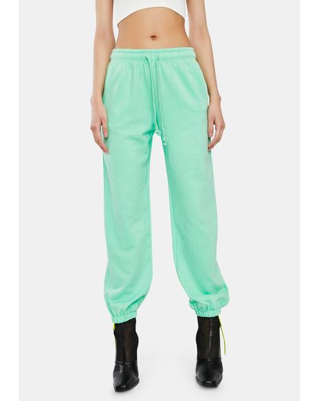 Minty Jogger Sweatpants