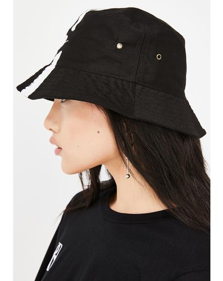 2-Stripe Bucket Hat
