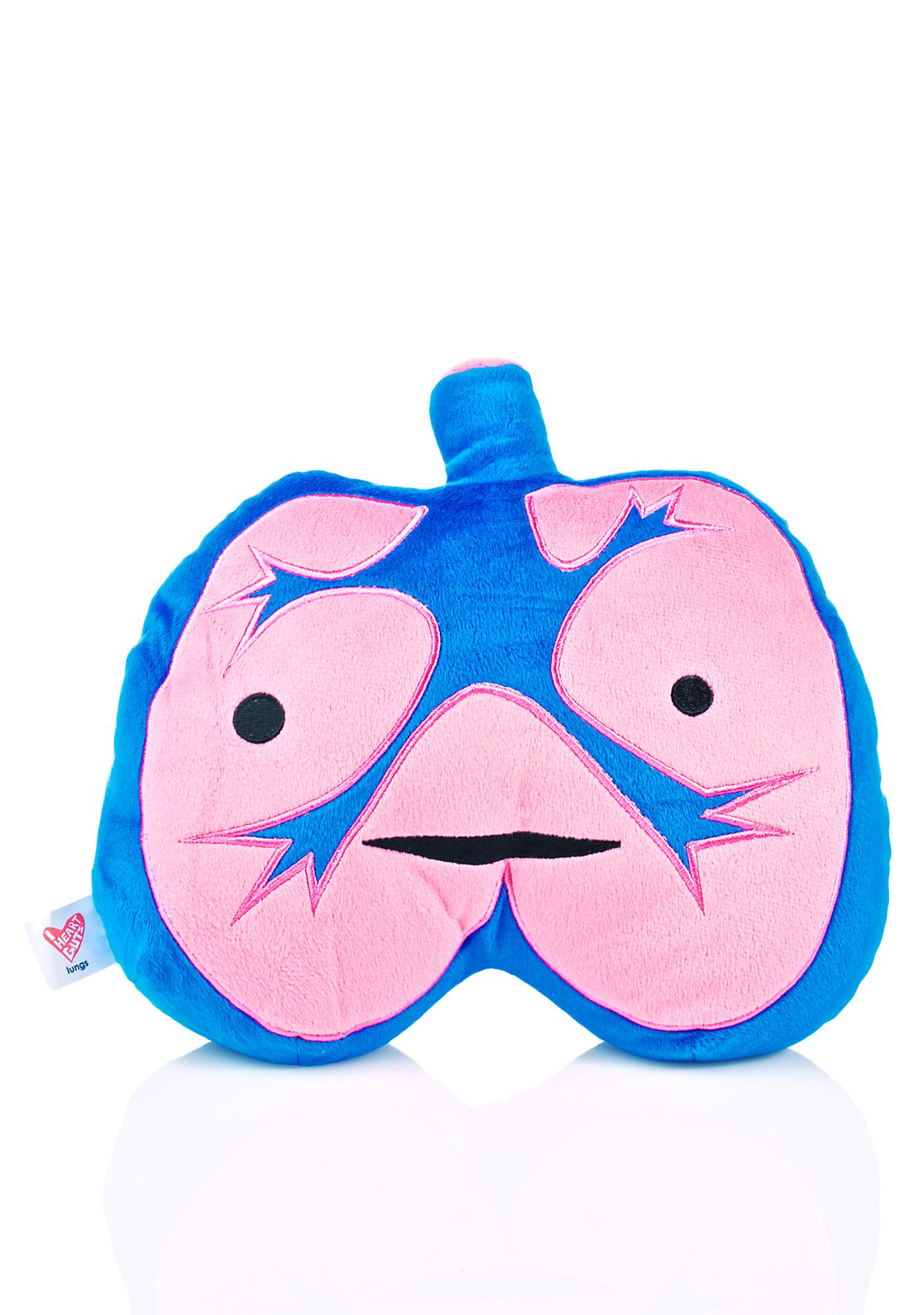 I Heart Guts Lungs Plushie