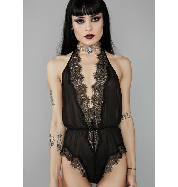 Widow Solemnly Swear Lace Bodysuit