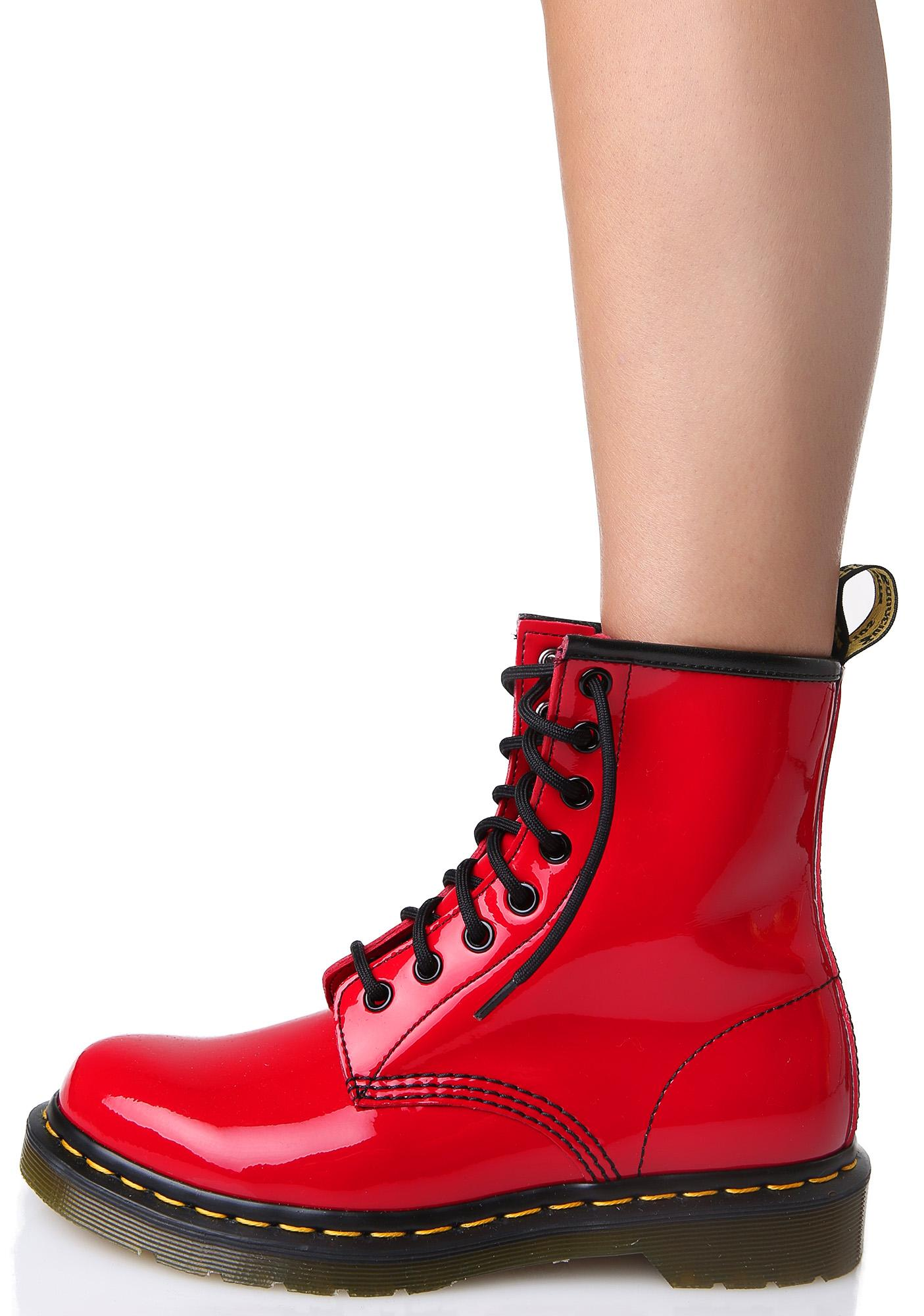 Find great deals on eBay for red patent boots. Shop with confidence.