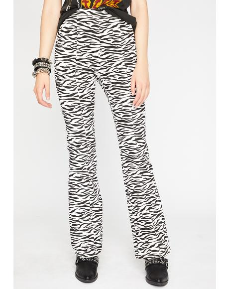 Wildly Bad Zebra Flares
