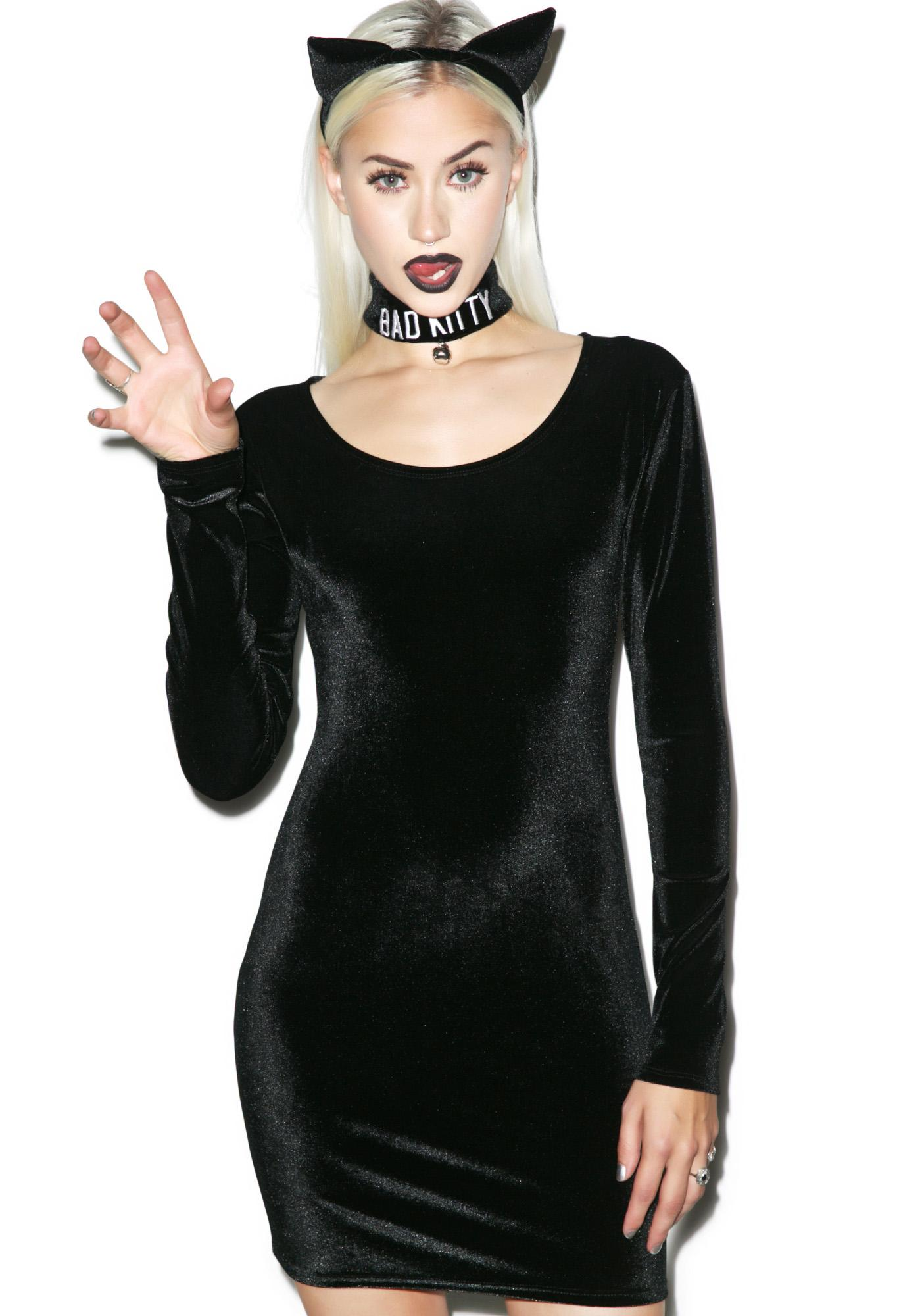 The Good Kitty, Bad Kitty Dress