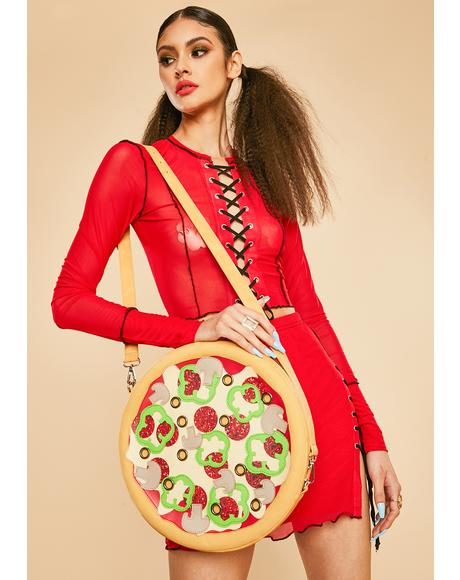 Oven Baked Pizza Crossbody Bag