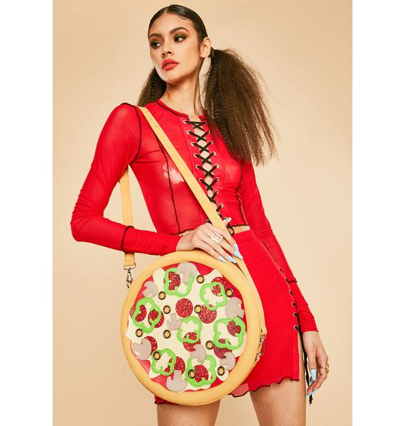 Current Mood Oven Baked Pizza Crossbody Bag