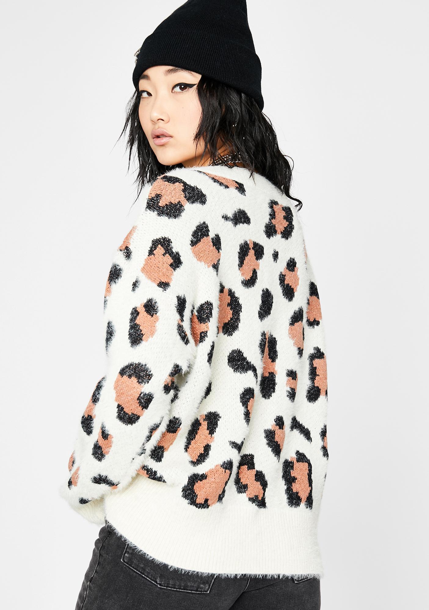 Unlike The Rest Fuzzy Sweater
