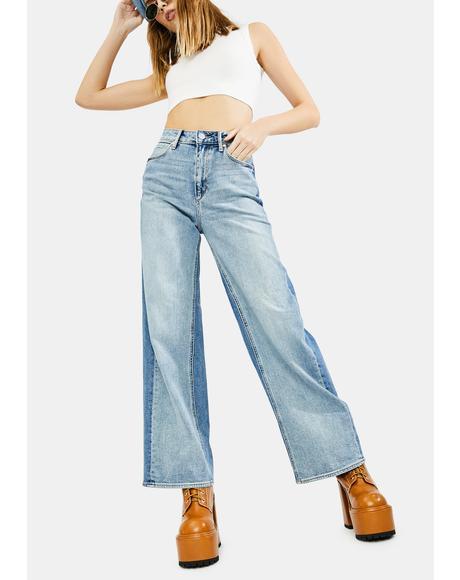 Alana High Waisted Flare Jeans