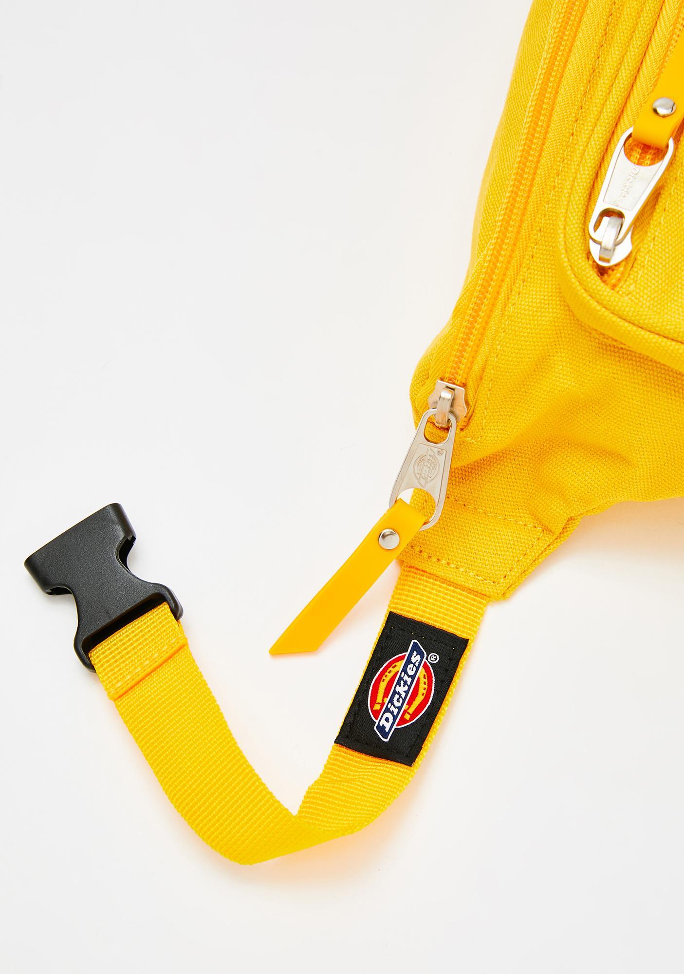 Dickies Yellow Canvas Hip Sack