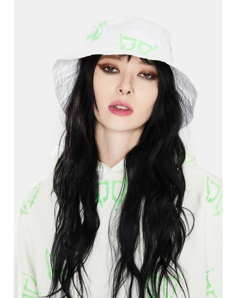 Green DB Wings Bucket Hat