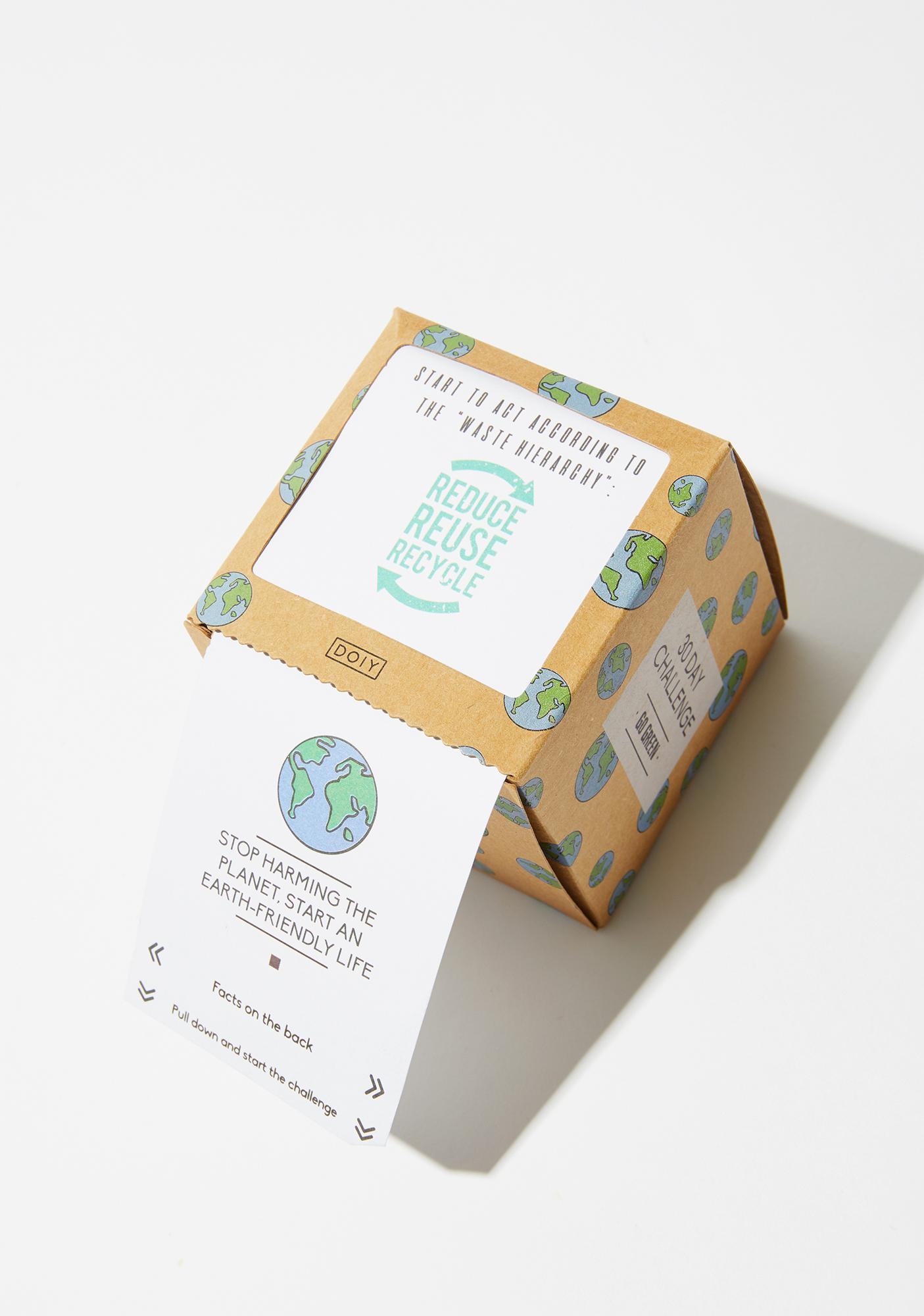 Go Green 30 Day Challenge Box
