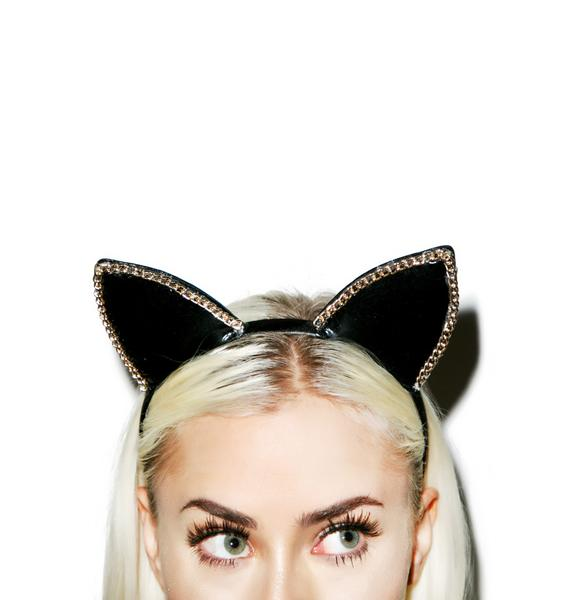 Kitty In Chains Headband