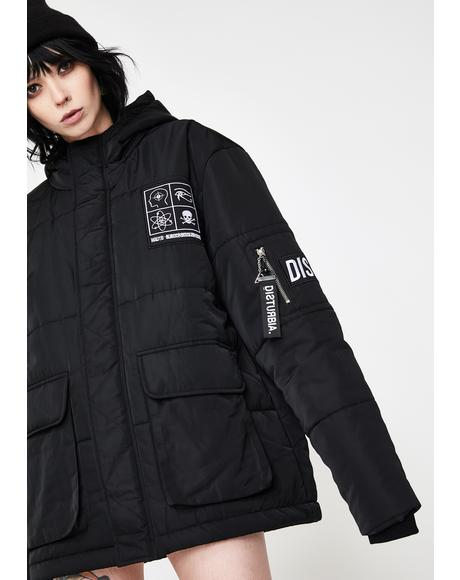 Haute Patched Puffer Jacket