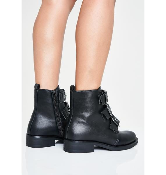 I'm With The Band Ankle Boots