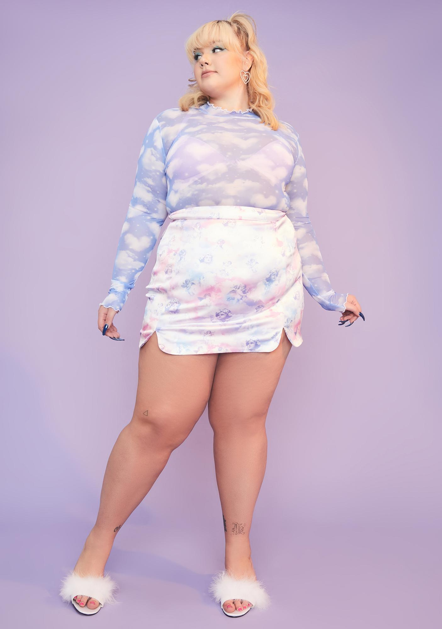 Sugar Thrillz Always Dreaming Of You Mesh Top