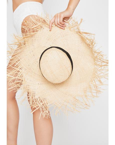 Bonfire Heaux Straw Hat