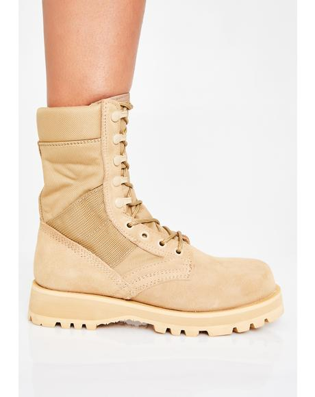 Sierra Sole Tactical Boots