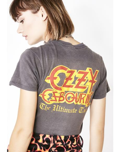 Vintage '86 The Ultimate Ozzy Tour Tee