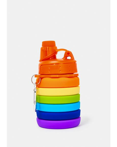 Pride Life Collapsible Water Bottle