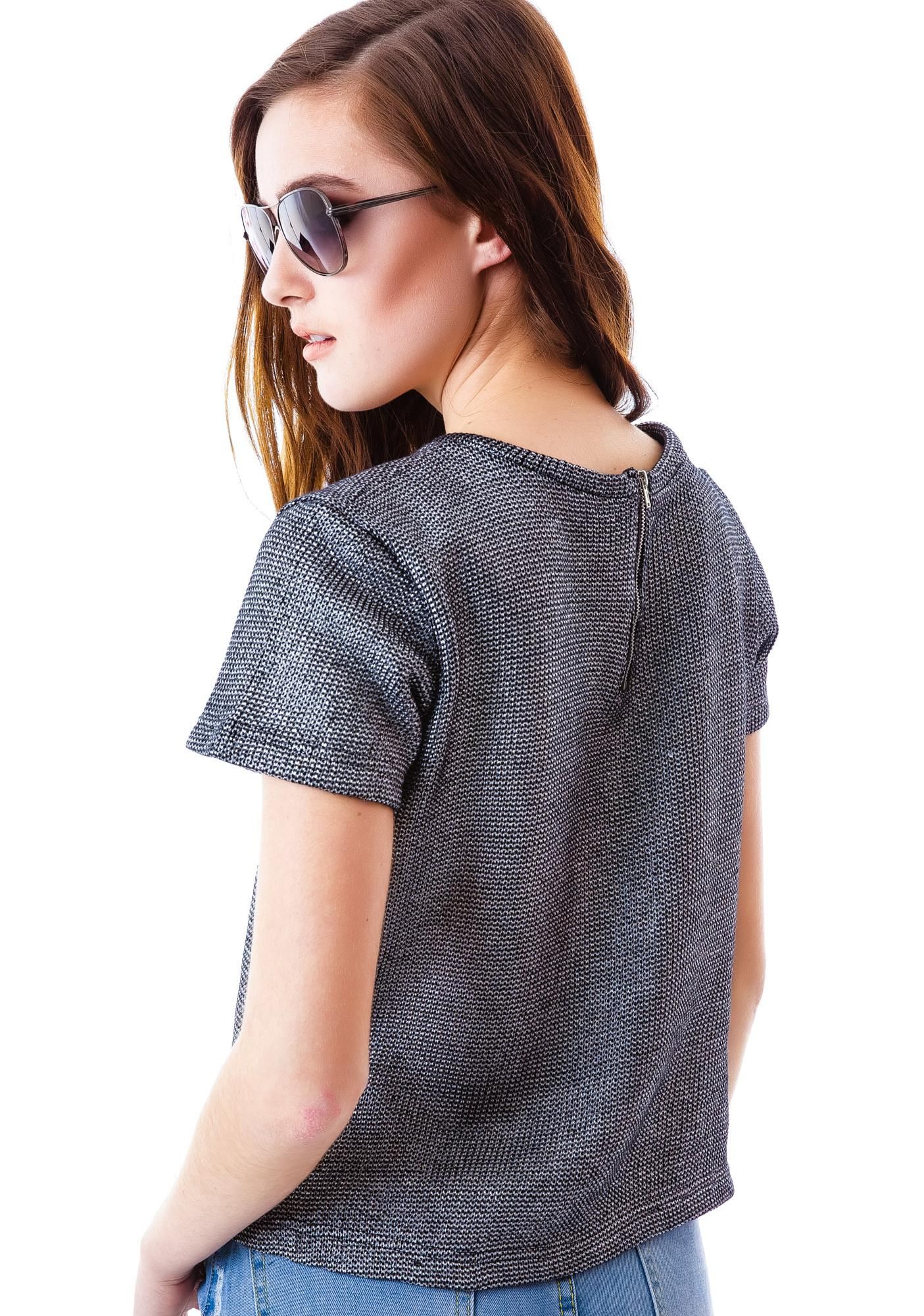 Odyssey Short Sleeve Sweater
