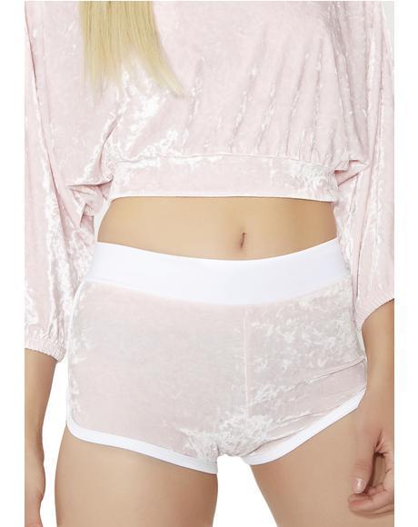 Sweet N' Sassy Velvet Shorts