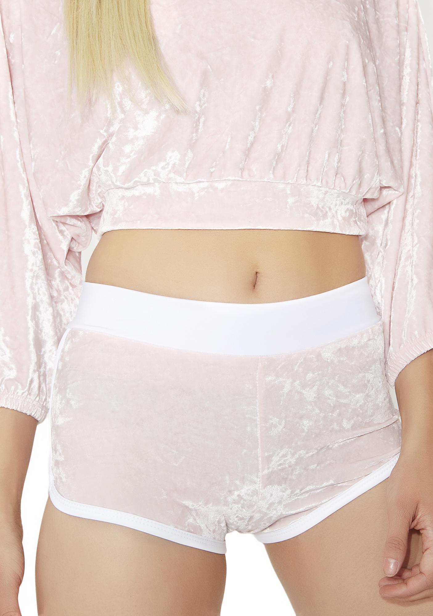 affd01e89c Sugarpuss Sweet N' Sassy Velvet Shorts