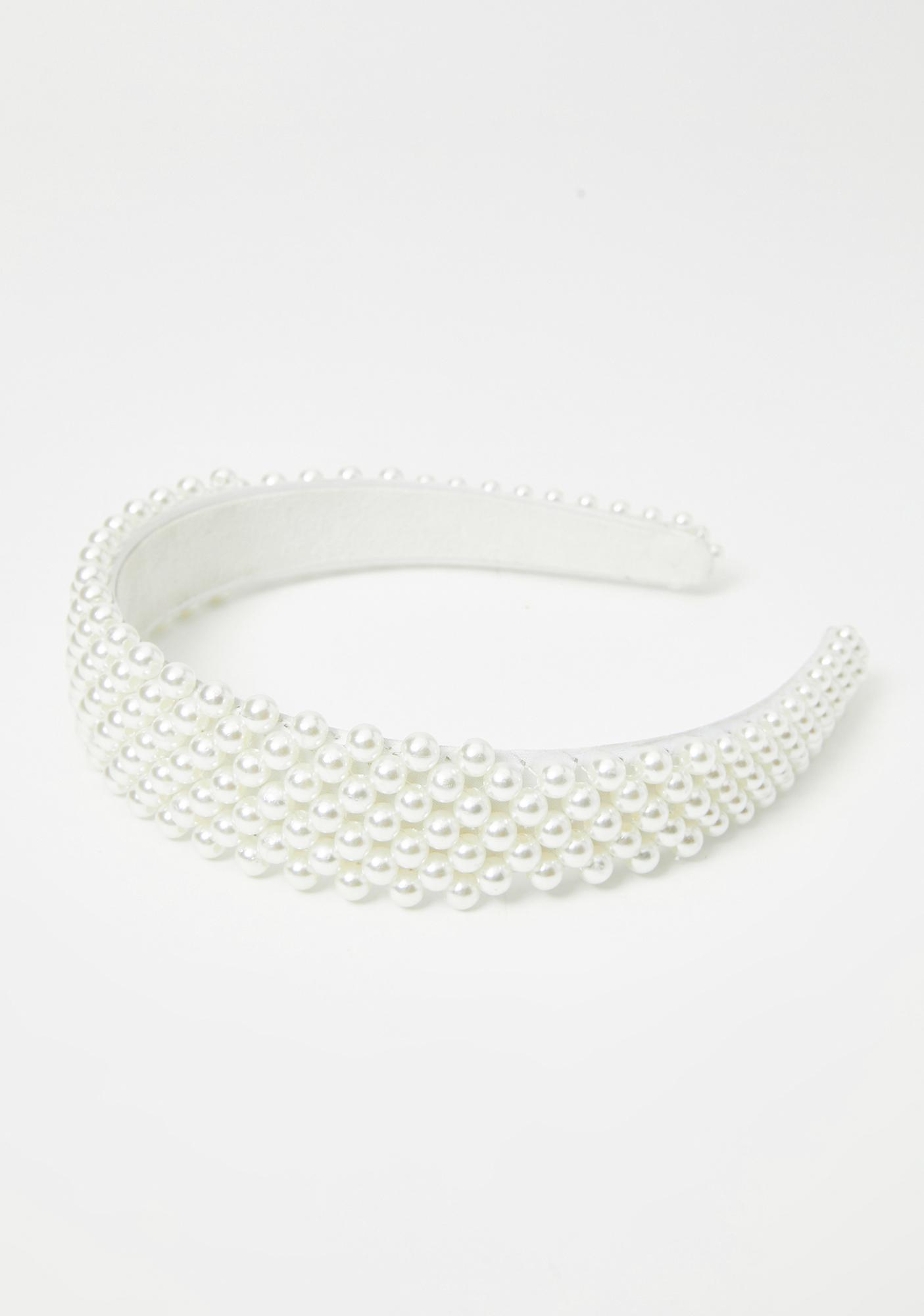 Chaotic Cotillion Pearl Headband