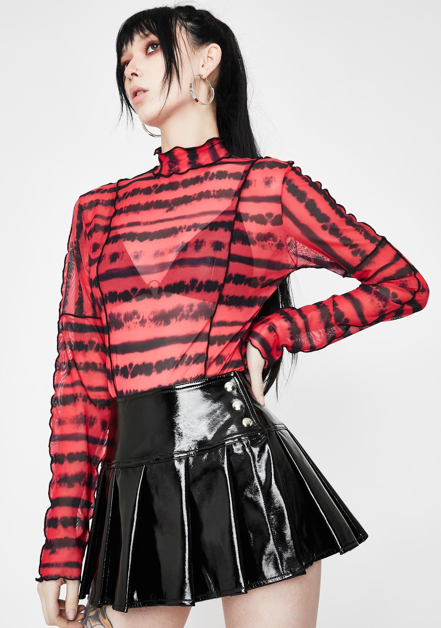 Hidden Cult Sabrina Pleated Mini Skirt