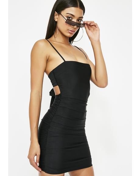 Better By Myself Cut Out Dress
