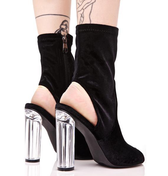 Vertigo Peep-Toe Boots