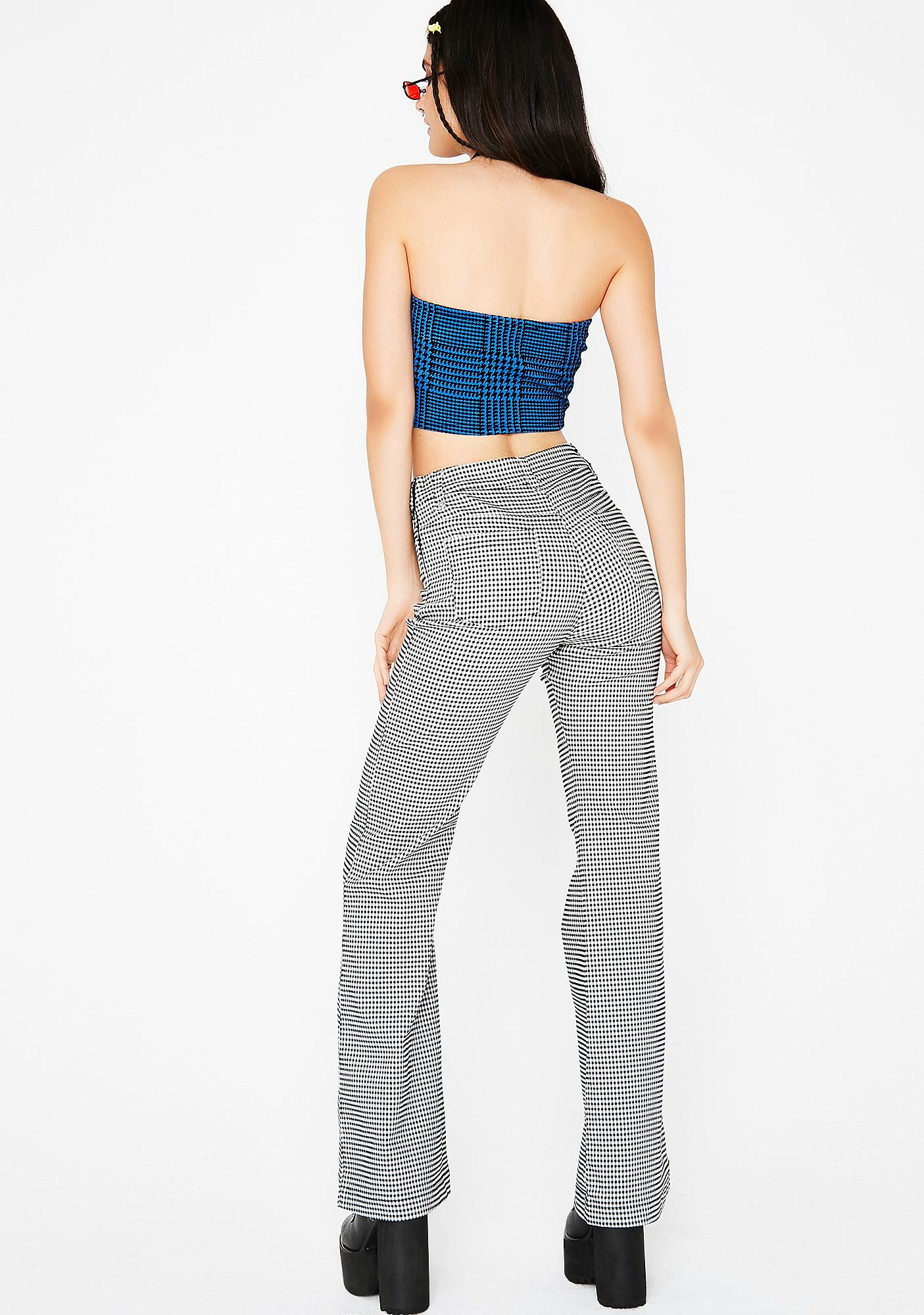 Risky Business Gingham Pants