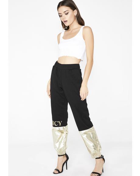 Juicy Metallic Colorblock Pant
