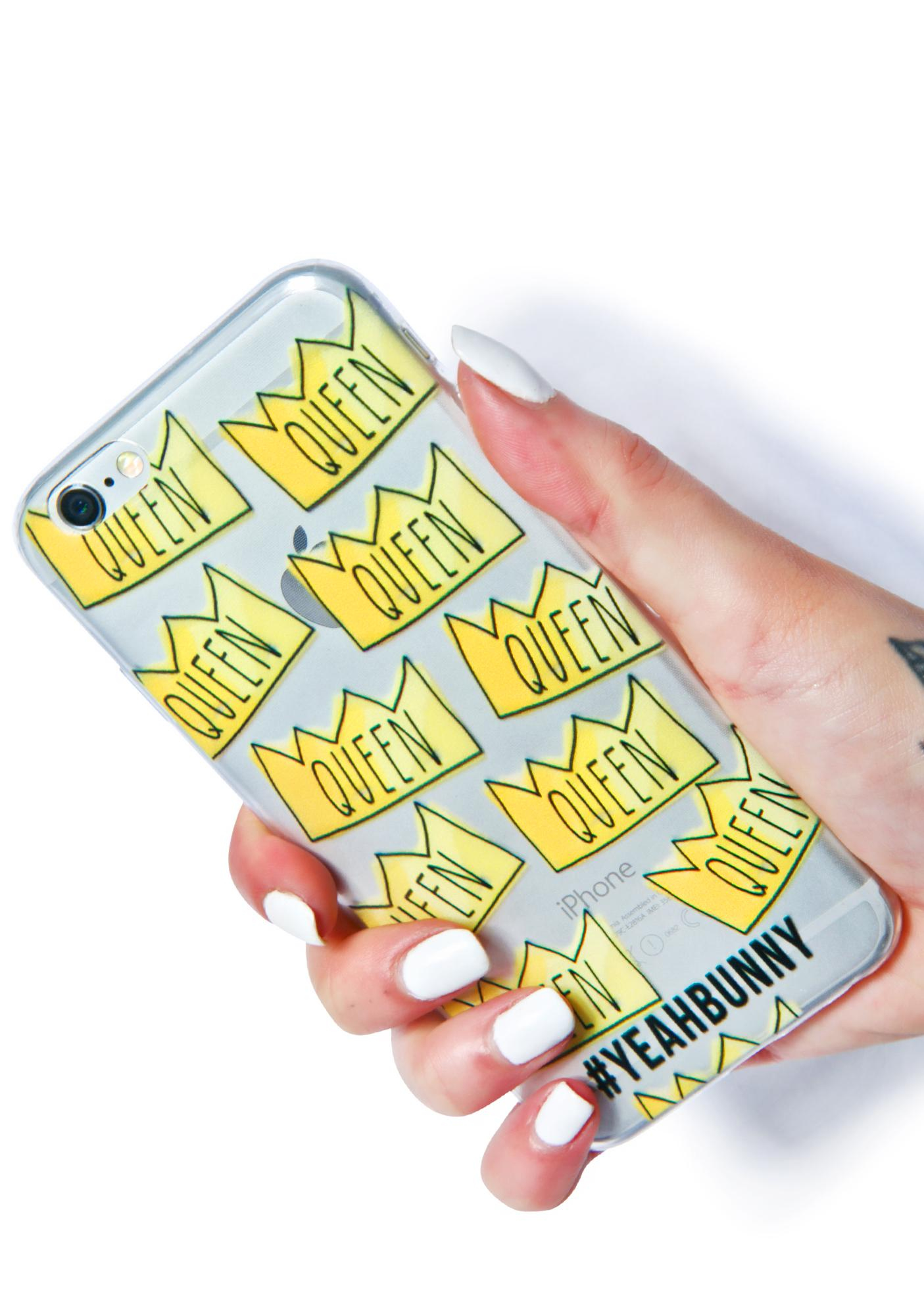 Yeah Bunny Queen iPhone 6 Case