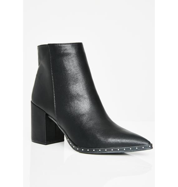 Midnight Witch Hunter Ankle Boots