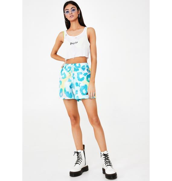 PUMA X Diamond Supply Co Leopard Shorts