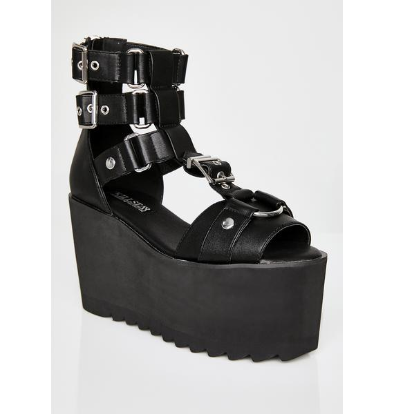 Killstar Death Valley Platform Wedges