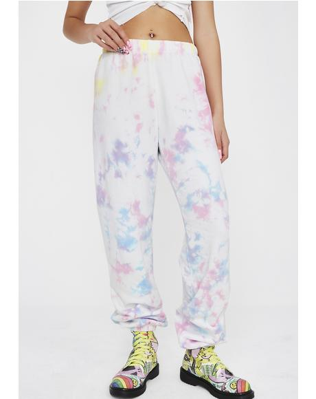 Aura Tie Dye Easy Sweats
