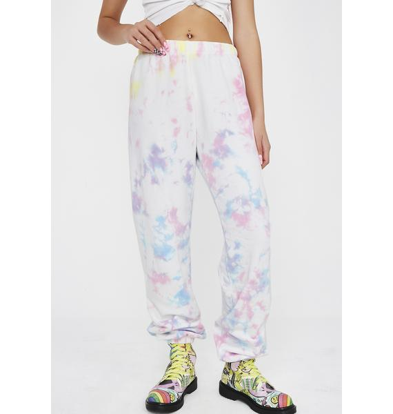 Wildfox Couture Aura Tie Dye Easy Sweats