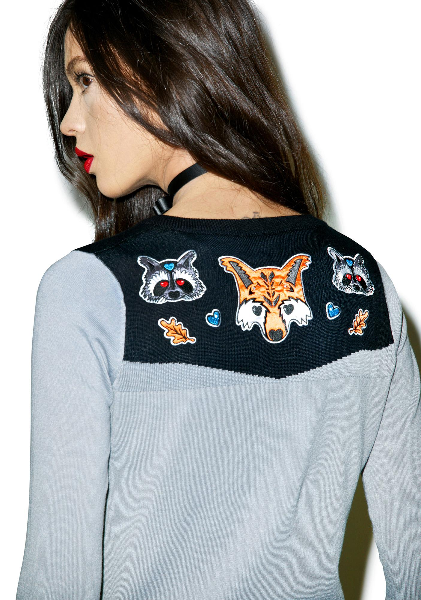 Foxy Friends Cardigan