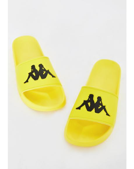 Yellow Authentic Adam 2 Slides