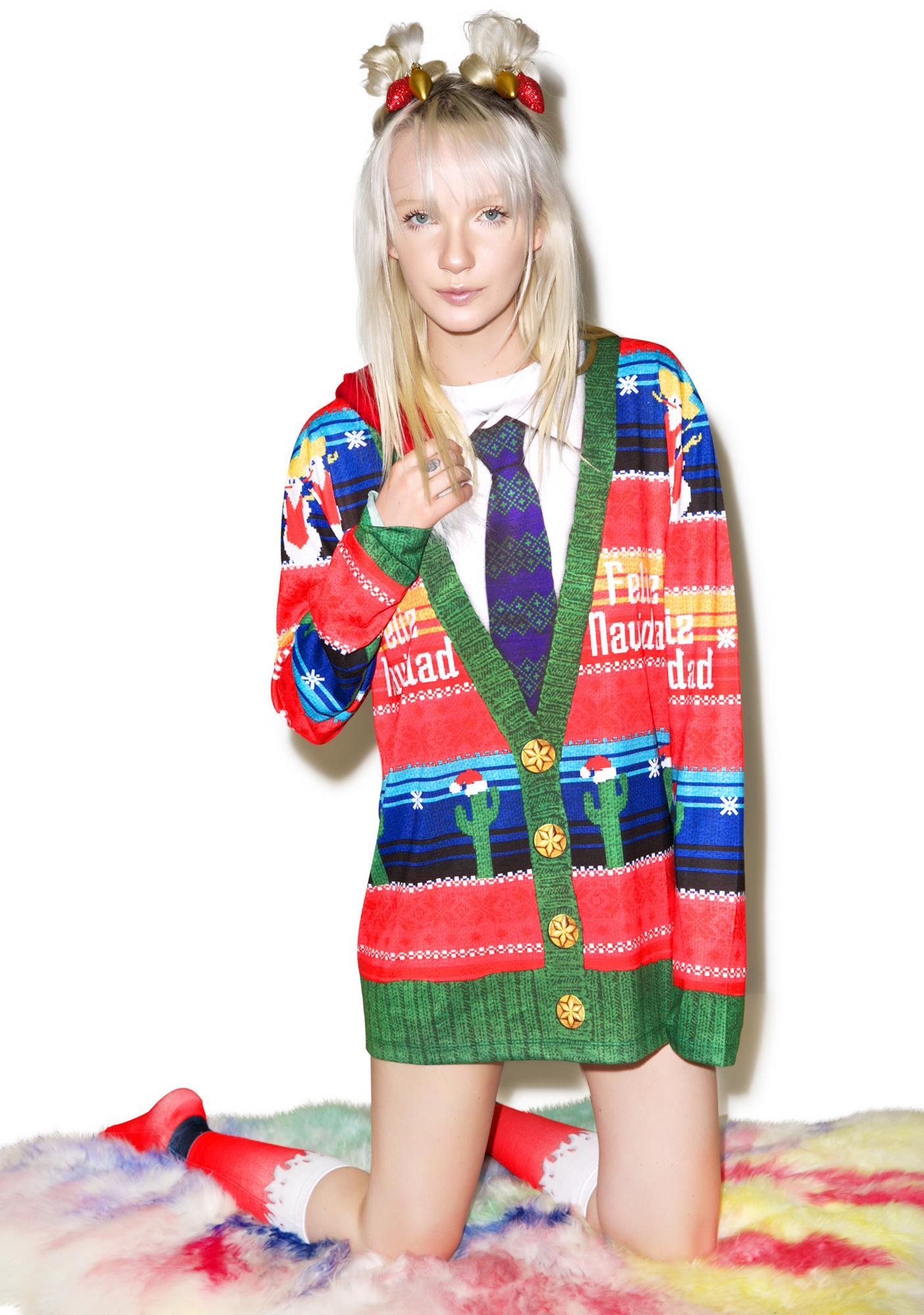 Feliz Navidad Sweater Tee
