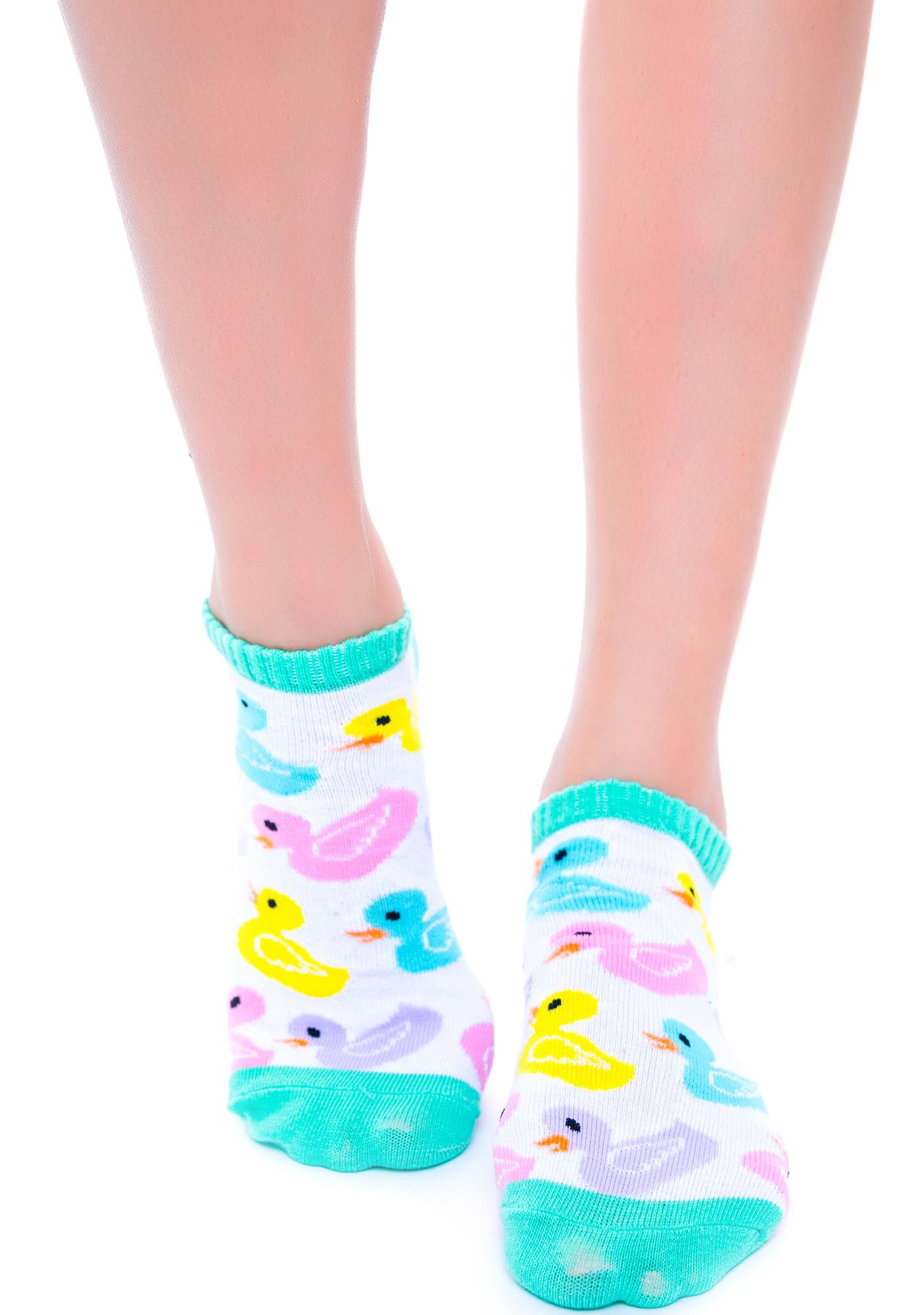 Lucky Duckies Sock