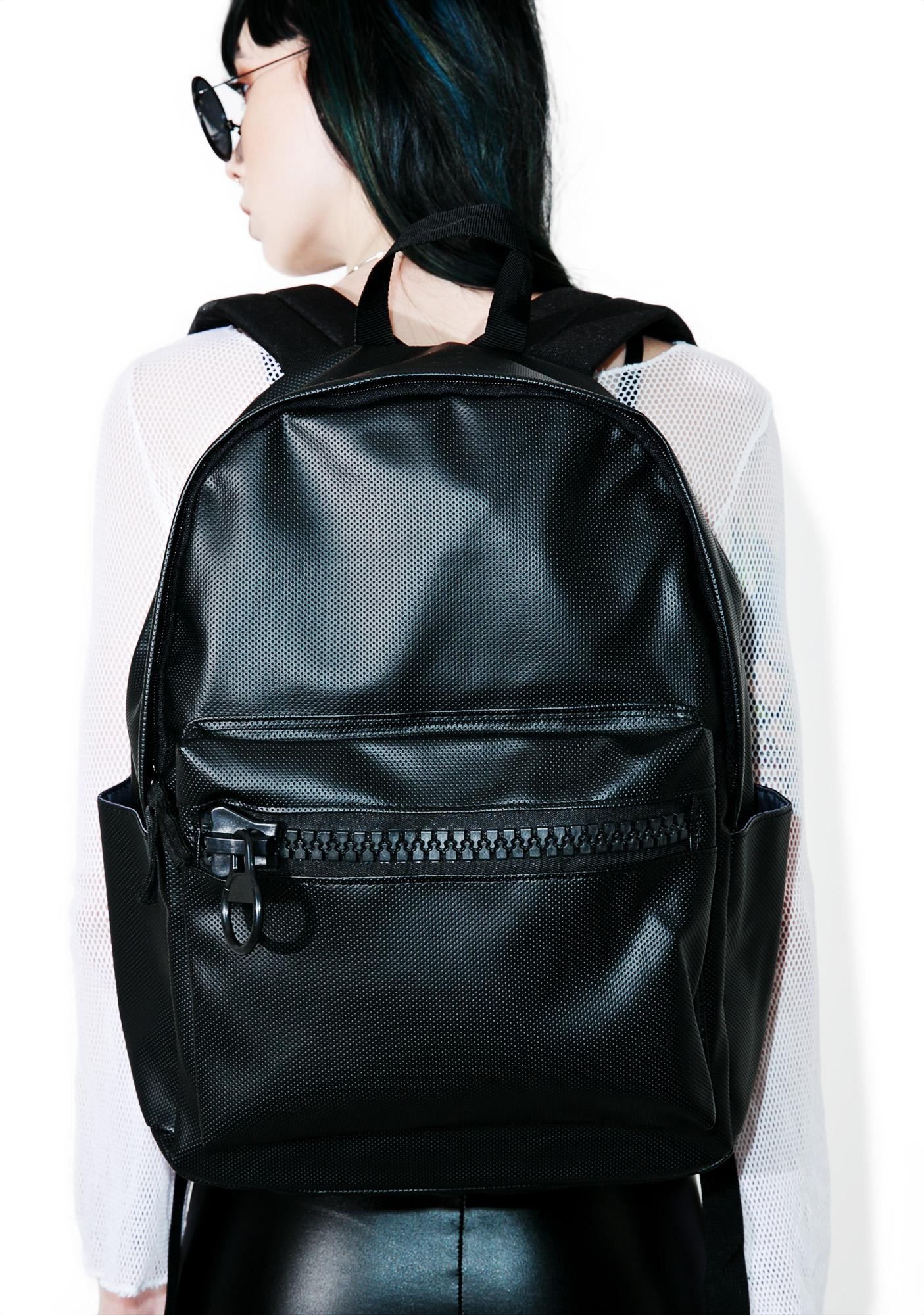 Hades Vegan Leather Backpack