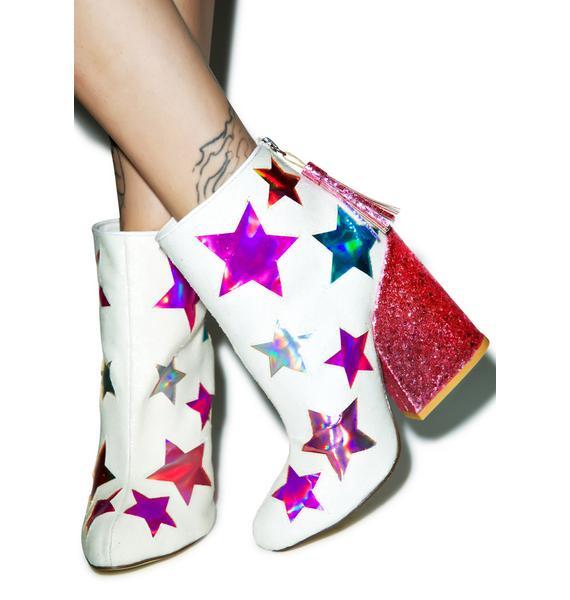 Y.R.U. Gem Star Ankle Boots