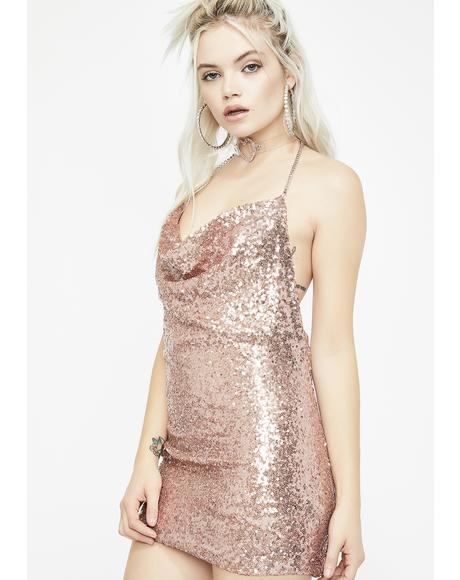 Showin' Out Sequin Dress