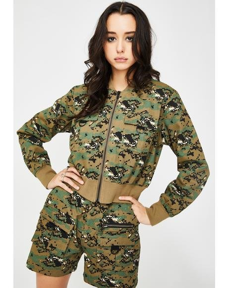 Digital Camo Skyla Jacket