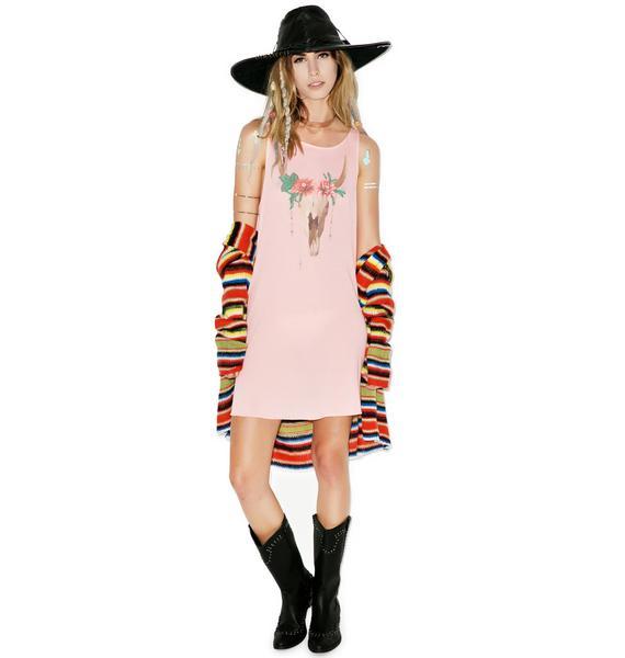 Wildfox Couture Desert Dahlia Cassidy Dress