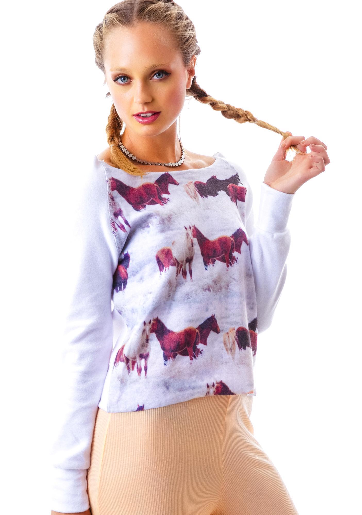 Winter Horseland Sweatshirt