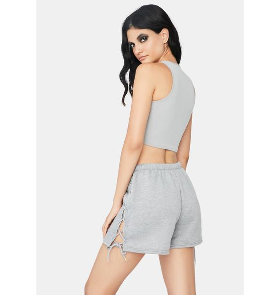 Heather Lay It On The Line Lounge Shorts