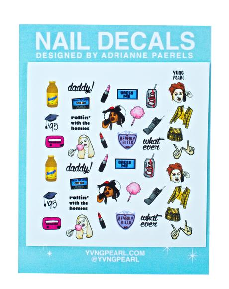 Ugh As If Nail Decals